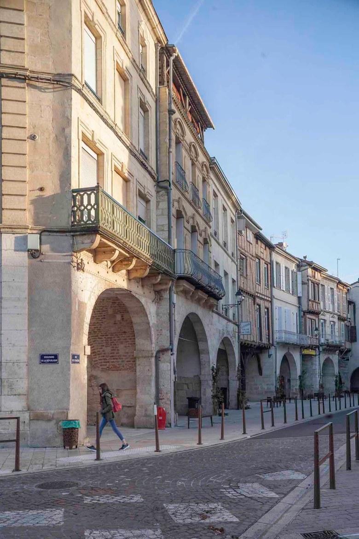 La rue des Cornières
