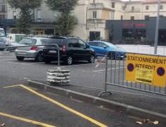 Parking interdits autour du marché de Jasmin à Agen