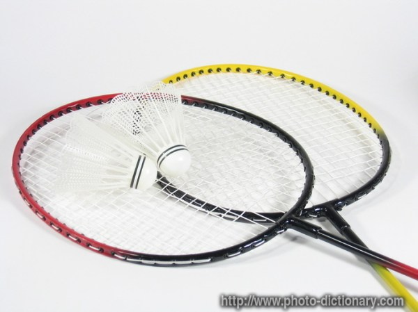 badminton - photo/picture definition at Photo Dictionary ...