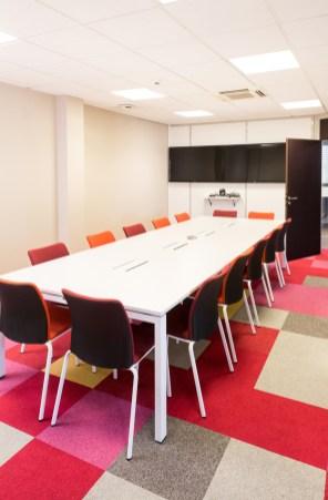 salle réunion architecture intérieur