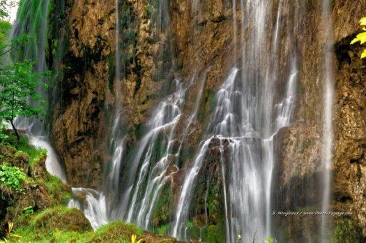 Magie des cascades du parc national de Plitvice. Parc National de Plitvice, Croatie