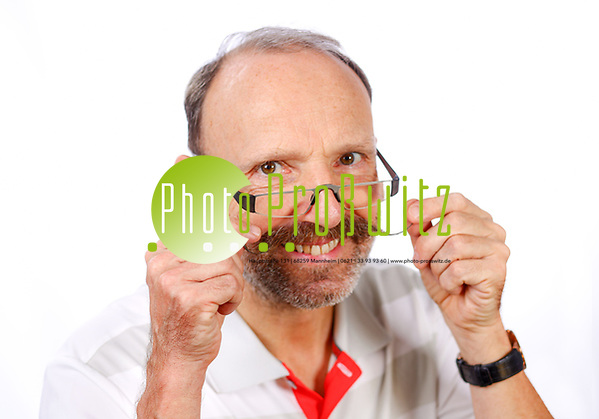 Bloomaul Christian Ziegler im Fotostudio
