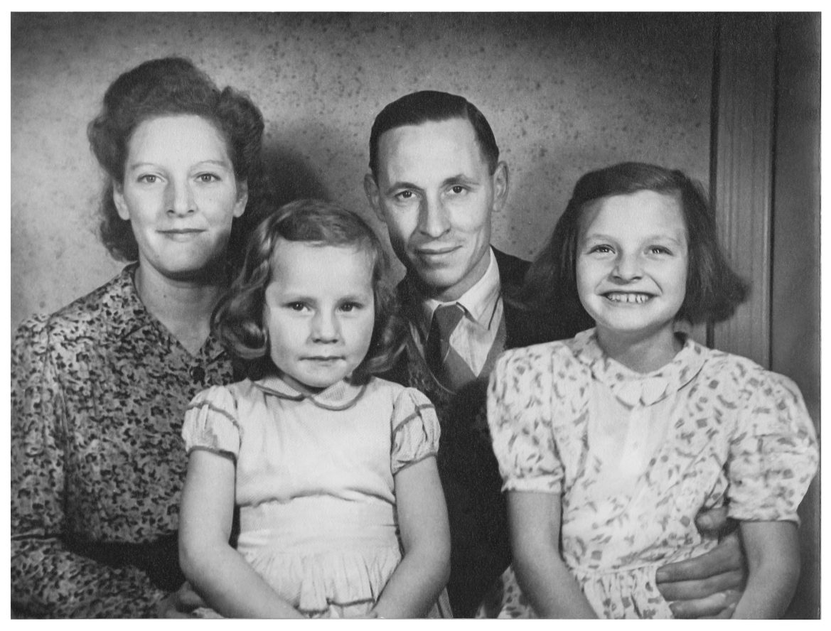 Family Portrait Photo Restoration