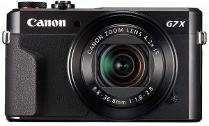 Canon Power Shot Digital Camera [ G7 X Mark II]