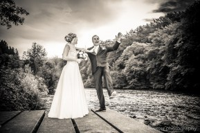 Hochzeit unter der Müngstener Brücke