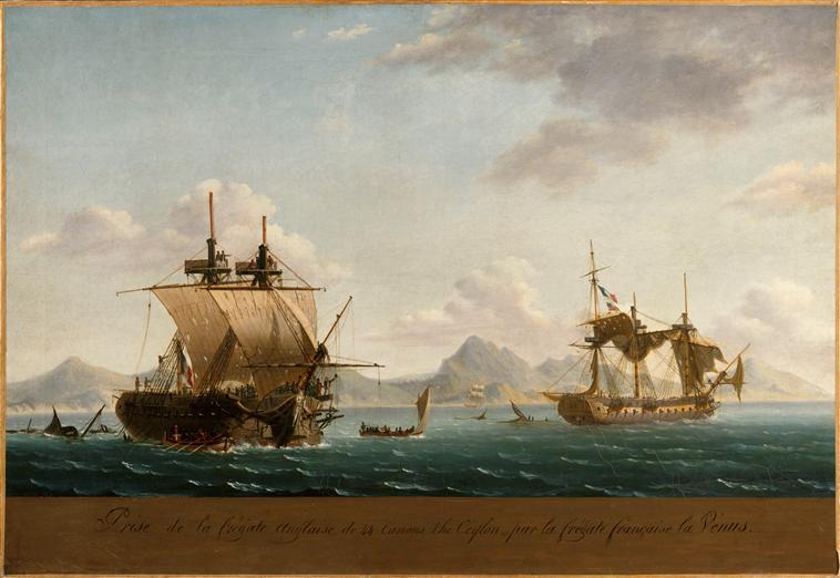 Prise de la frégate anglaise de 44 canons