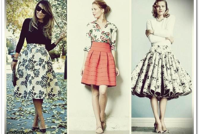 تنورة قصيرة كلوش Short skirt Klush