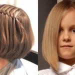 قصات شعر بنات فرنسي للاطفال 2020