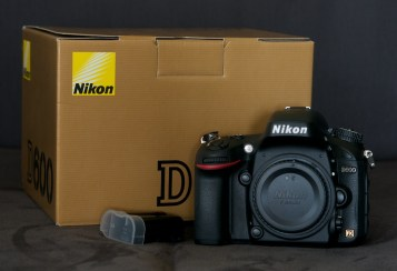 Nikon D600 mit OVP