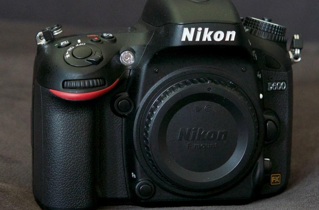 Nikonausrüstung zu verkaufen