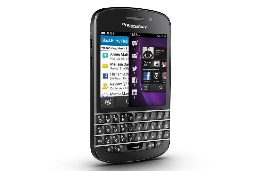 iCloud Kalender und Kontakte im Blackberry integrieren