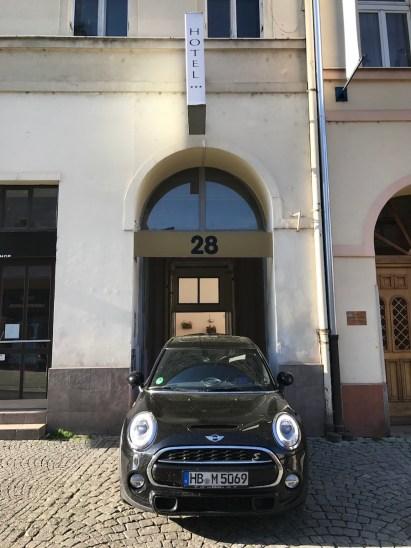 Mini in Prag