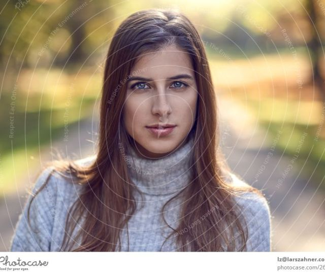 Attractive Fashionable Woman In Evening Light A Royalty Free Stock Photo From Photocase
