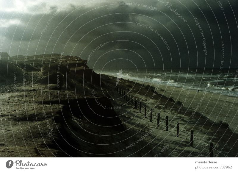 Winter Sea Waves And Cloudy Sky Horizon A Royalty Free Stock Photo From Photocase