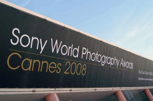 Sony world photo banner