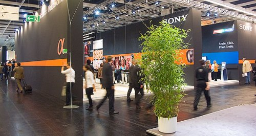 The Sony stand at photokina 2006