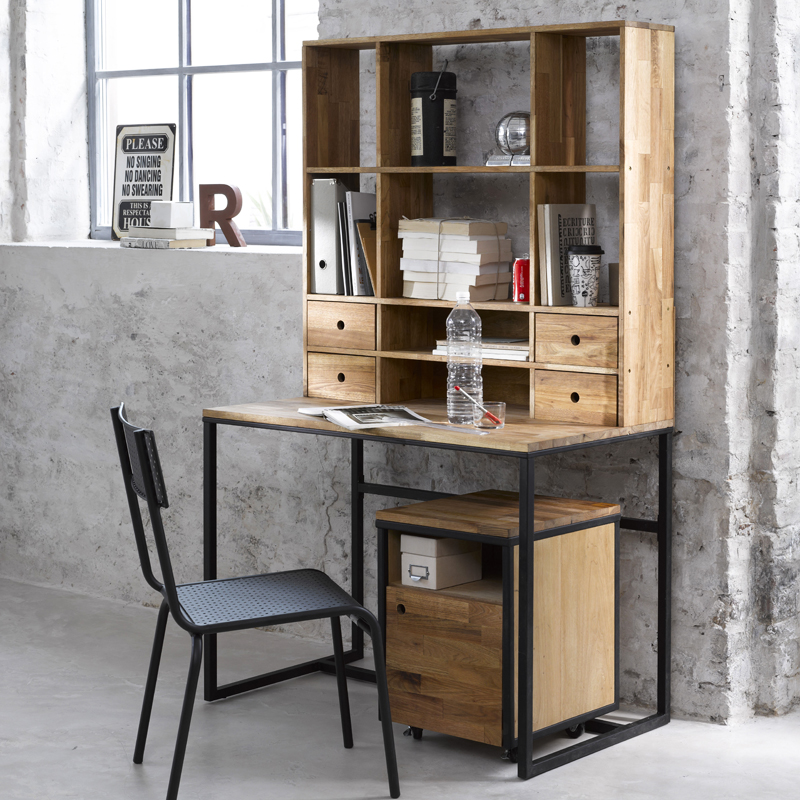 Photo Decoration Dco Bureau Style Industriel 9jpg
