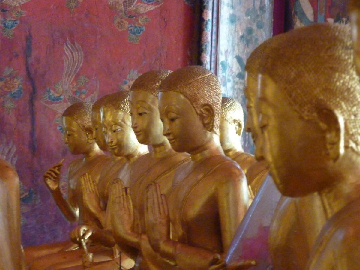 Row of Bhikkhunis