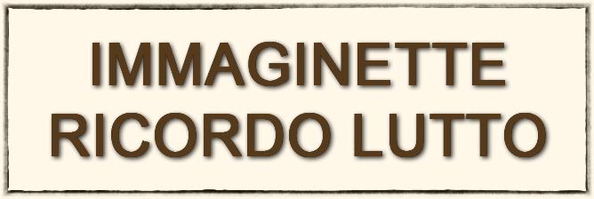 Immaginette Lutto