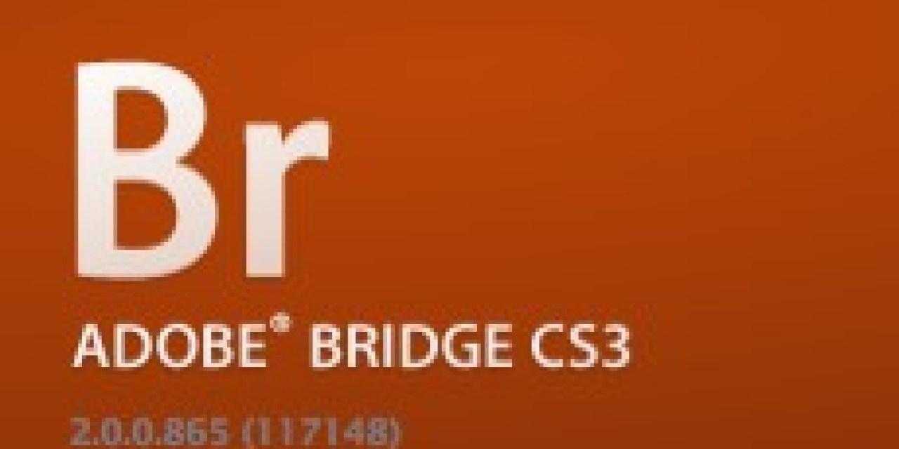 Mise à jour de Bridge CS3