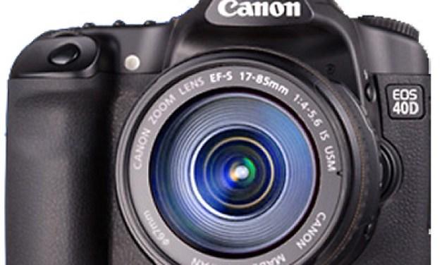 Double coup de Canon : EOS 40D et 1DS MarkIII