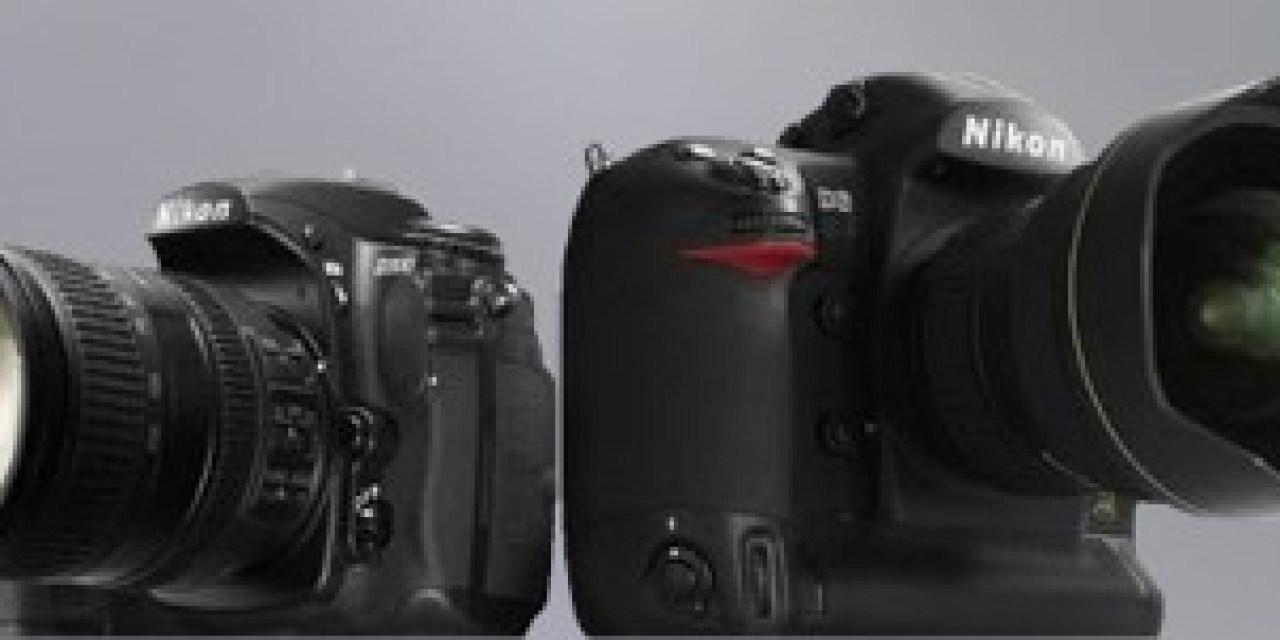 Nikon riposte avec le D3 et D300