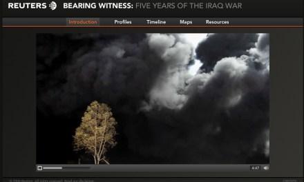 Reuters : 5 ans de guerre en Irak