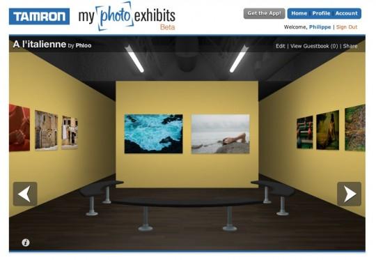 Tamron my photo exhibits