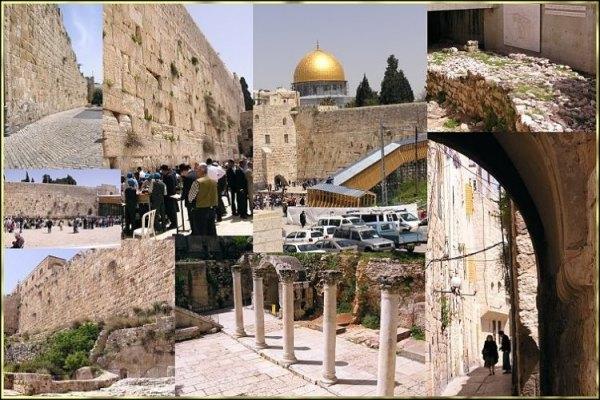 Фото Иерусалим -- коллаж - фотограф Олег Кантор ...