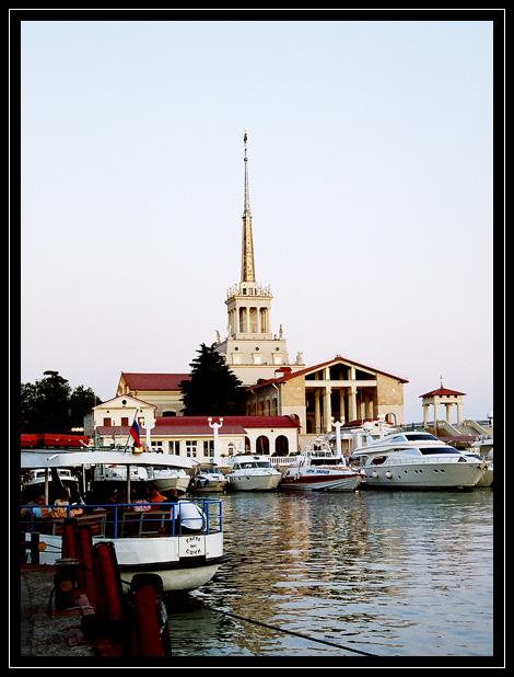 Фото Порт Сочи - фотограф Игорь Пичугин - пейзаж ...