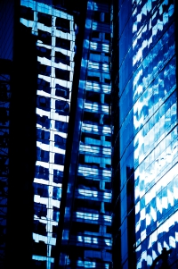 blue reflection 1 (limitierte edition) - PHOTOGALERIE WIESBADEN - new york city - fascensation