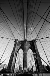 brooklyn bridge 3 (sw) (limitierte edition) - PHOTOGALERIE WIESBADEN - new york city - fascensation