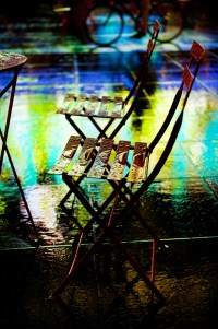chairs in the rain (limitierte edition) - PHOTOGALERIE WIESBADEN - new york city - fascensation