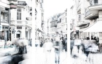 langgasse - wiesbaden in bewegung (3 teile) - PHOTOGALERIE WIESBADEN - wiesbaden - impressionen 4