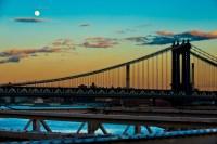 moon over manhattan bridge 3 (limitierte edition) - PHOTOGALERIE WIESBADEN - new york city - fascensation