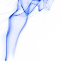 rauch 2 weiß blau - PHOTOGALERIE WIESBADEN - flamme rauch formen