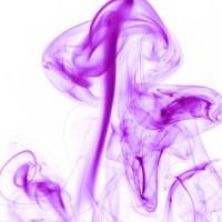rauch 8 weiß lila - PHOTOGALERIE WIESBADEN - flamme rauch formen