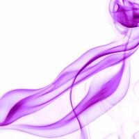rauch 9 weiß lila - PHOTOGALERIE WIESBADEN - flamme rauch formen