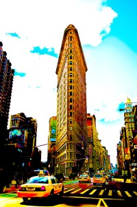taxi to flat iron building (photo art edition) - PHOTOGALERIE WIESBADEN - new york city - fascensation
