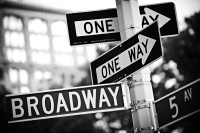 two one way (sw) (limitierte edition) - PHOTOGALERIE WIESBADEN - new york city - fascensation