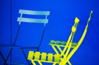 yellow chairs (limitierte edition) - PHOTOGALERIE WIESBADEN - new york city - fascensation