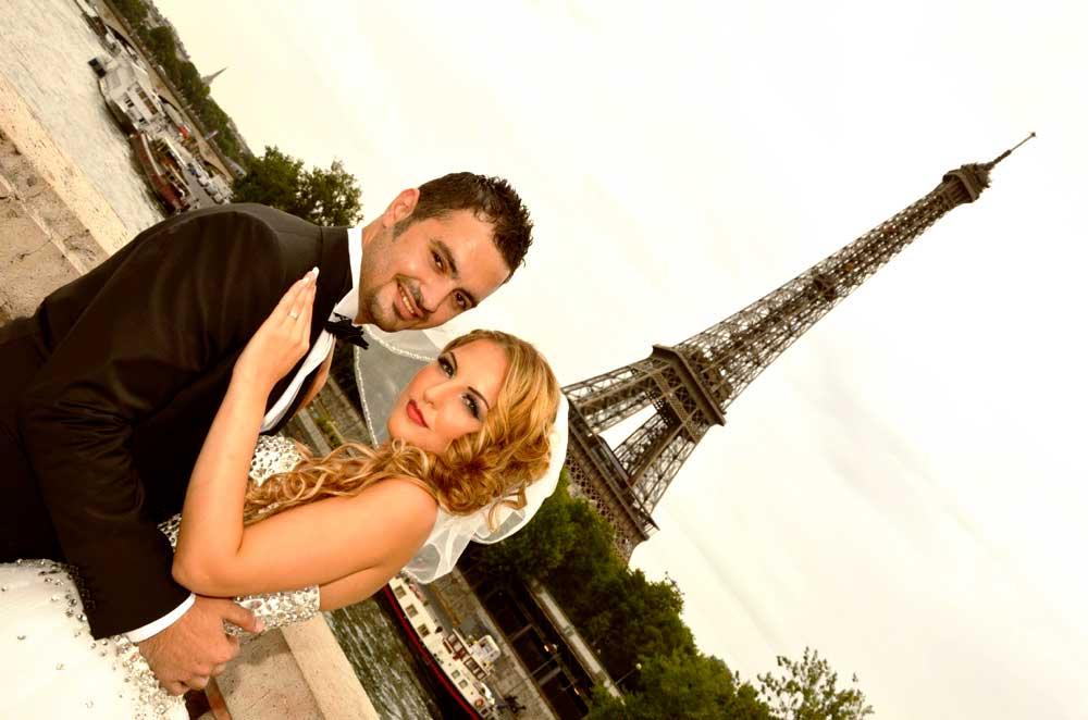mariage libanais tour Eiffel