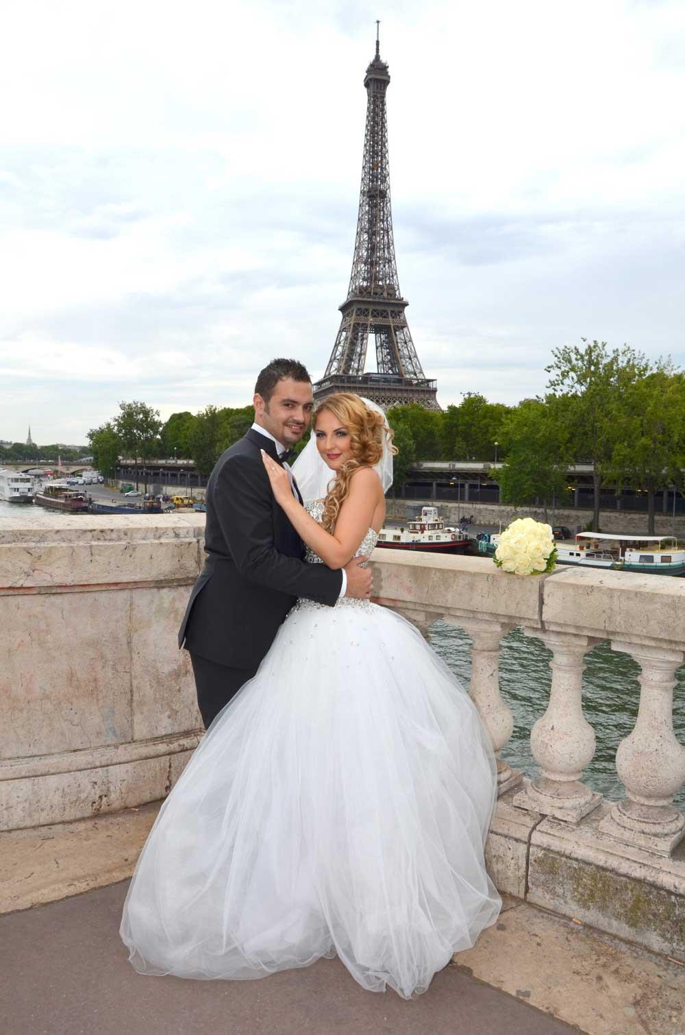 La tour Eiffel Paris mariage
