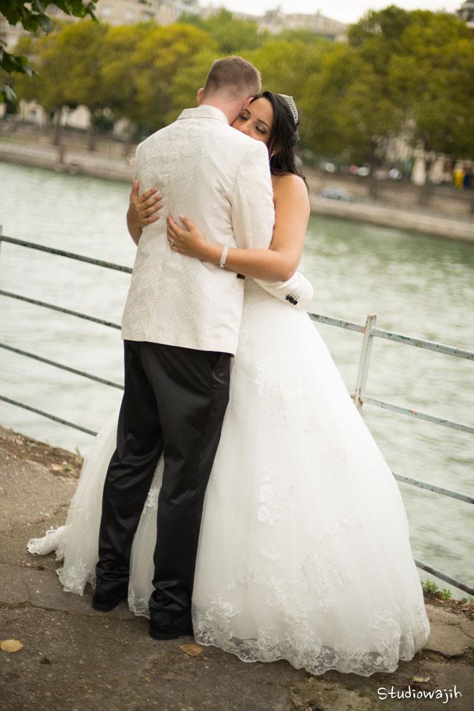 mariés Seine de Paris