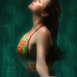 East york Toronto glamour photography a girl in swimming poor