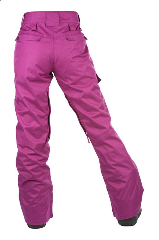 women winter pants back