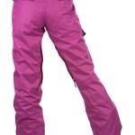 women winter pants back