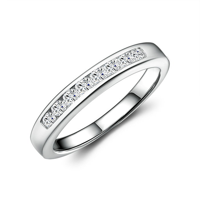 Canada jewelry photographer Sterling Silver Diamond girl's Ring