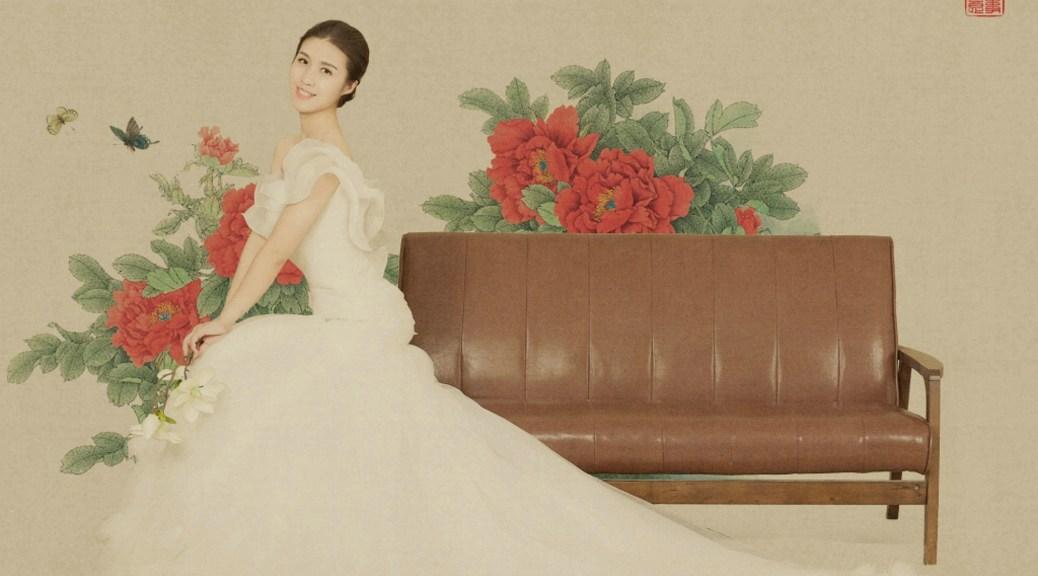 多伦多中国风工笔画婚纱摄影