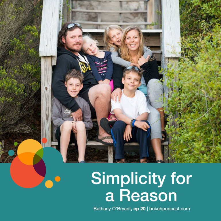 Episode 20: Simplicity for a Reason – Bethany O'Bryant